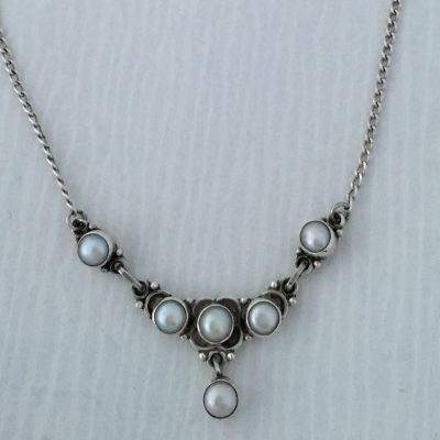 Danish Pearl Necklace