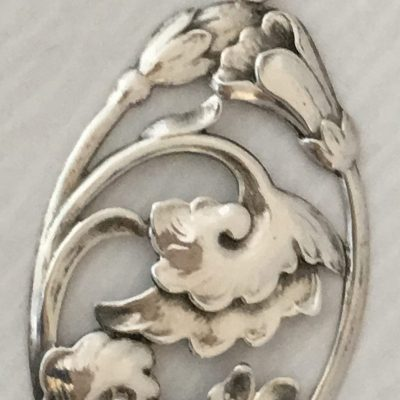 Danish Large Flower/Leaf Pendant