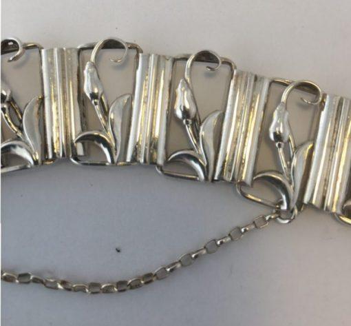 Christian Michelsen Tulip Bracelet detail