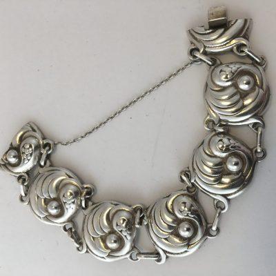 Danish Linked Bracelet (Georg Jensen Design)