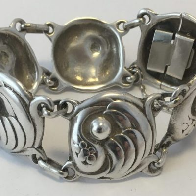 Danish Linked Bracelet (Georg Jensen Design)