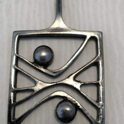 Danish Poul Warmind Pewter Pendant