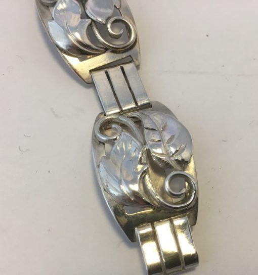 Danish bracelet Karl Pedersen detail