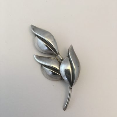 Danish SCF Three Leaf Brooch