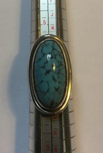 Hermannn Siersbol Turquoise Ring