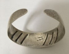Danish Hammered Bangle