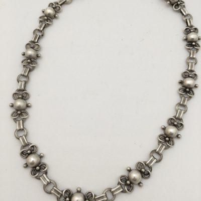 Danish C.Brumberg Hansen linked necklace