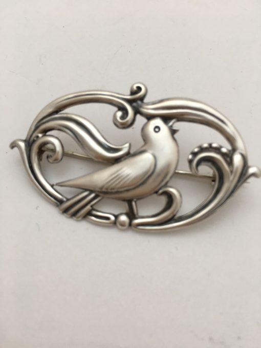 Danish bird brooch