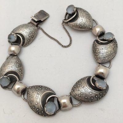 Swedish Alton Moonstone Bracelet