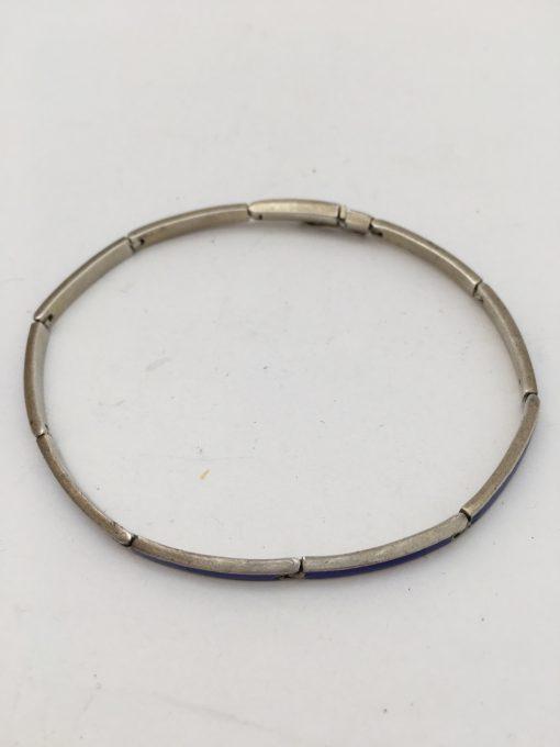 blue enamel braceletEKH153