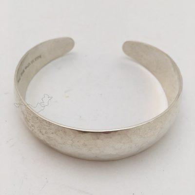 Swedish hand hammered bangle