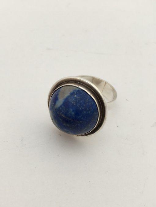 lapis lazuli silver ring 1