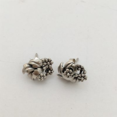 Danish ALE Floral Earrings