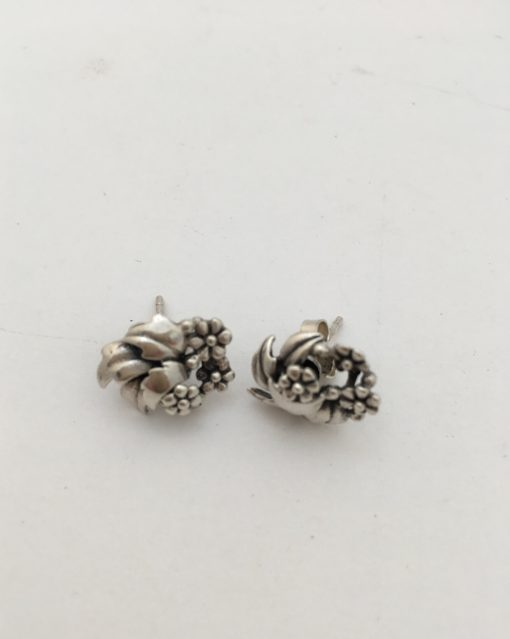 Danish floral earrings EKH233