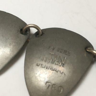 Danish Pewter Necklace