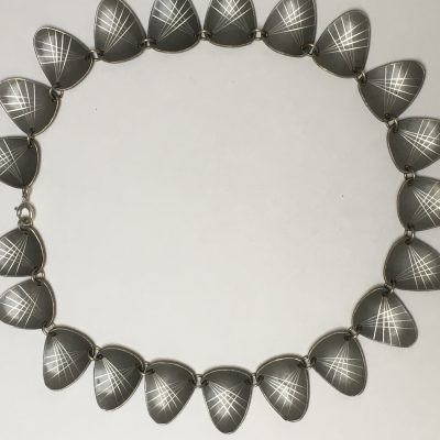 Danish Pewter Necklace