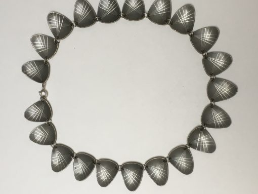 Danish pewter necklace EKH357