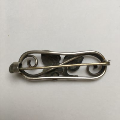 Danish A.R.K. Bar Brooch