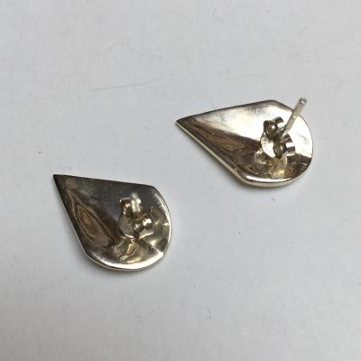 Kite Shield Shaped Earrings