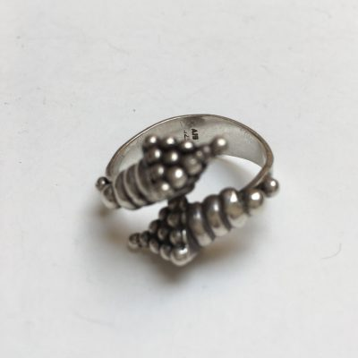 Twisted Cornucopia ring