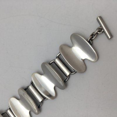 Danish Modernist Karen Strand Bracelet for A. Dragsted