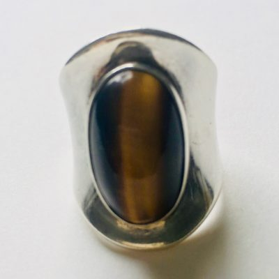 Bent Knudsen Tiger's Eye Ring