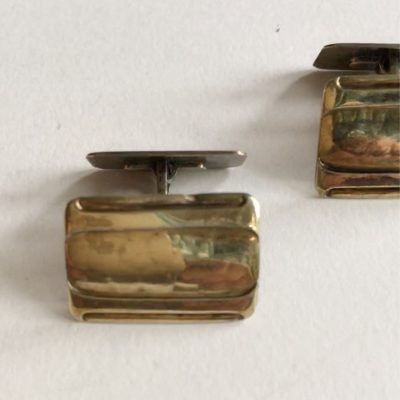 Danish COF Silver Cufflinks