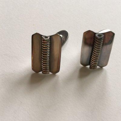 Danish COF Silver Cufflinks