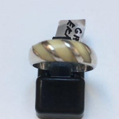 GIFA Bone Inlay Ring