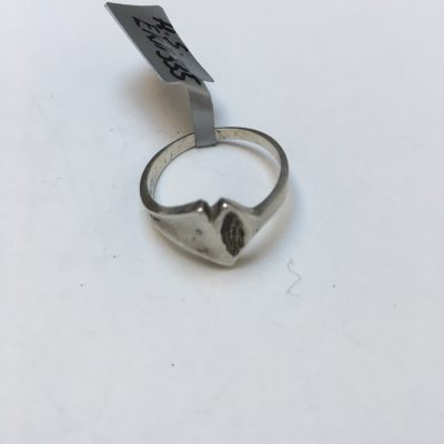 Small H.S. Silver Ring