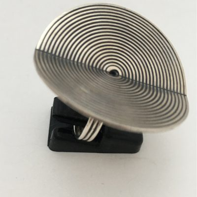 Norwegian Huge Concentric Disc Ring