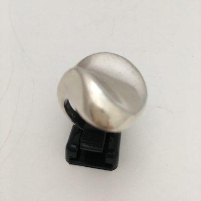 Danish Randers Solvvarefabrik Curvacious Silver Ring