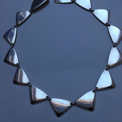 Hans Hansen Pyramid Necklace